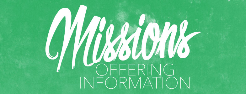 Missions Offering